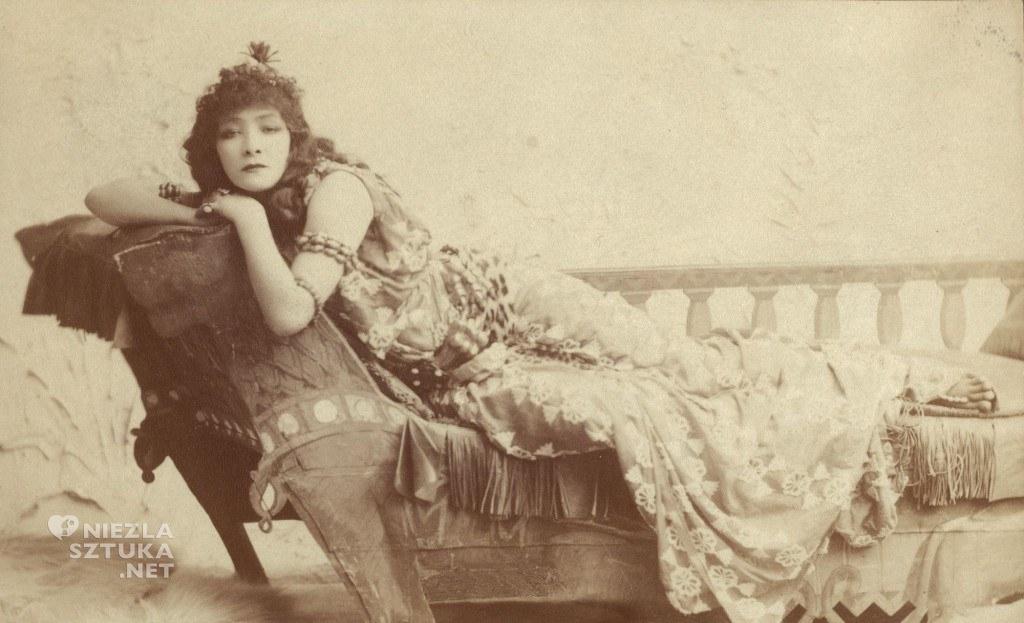 Sarah Bernhardt jako Kleopatra | 1891, fot.: wikipedia.org