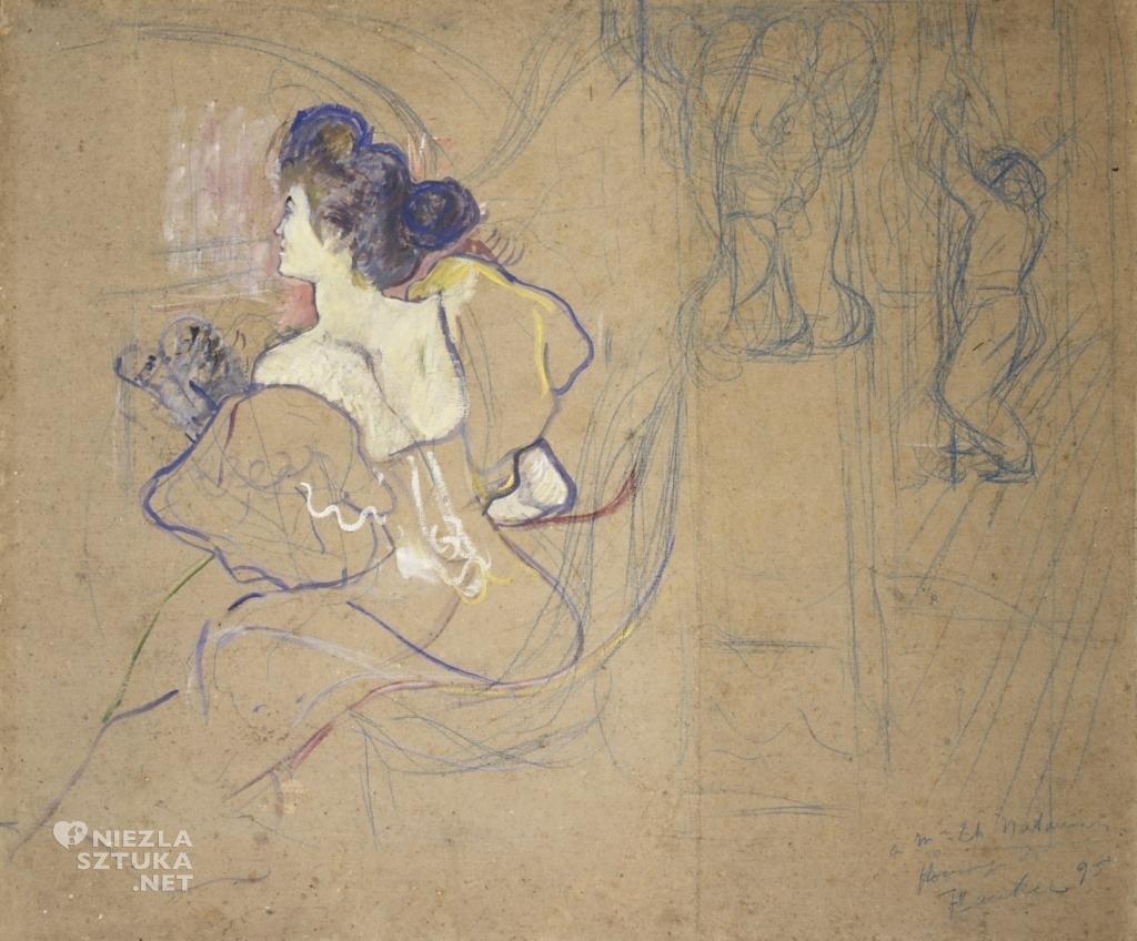Maria Zofia Olga Zenajda Godebska Misia Sert Natanson Henri de Toulouse-Lautrec