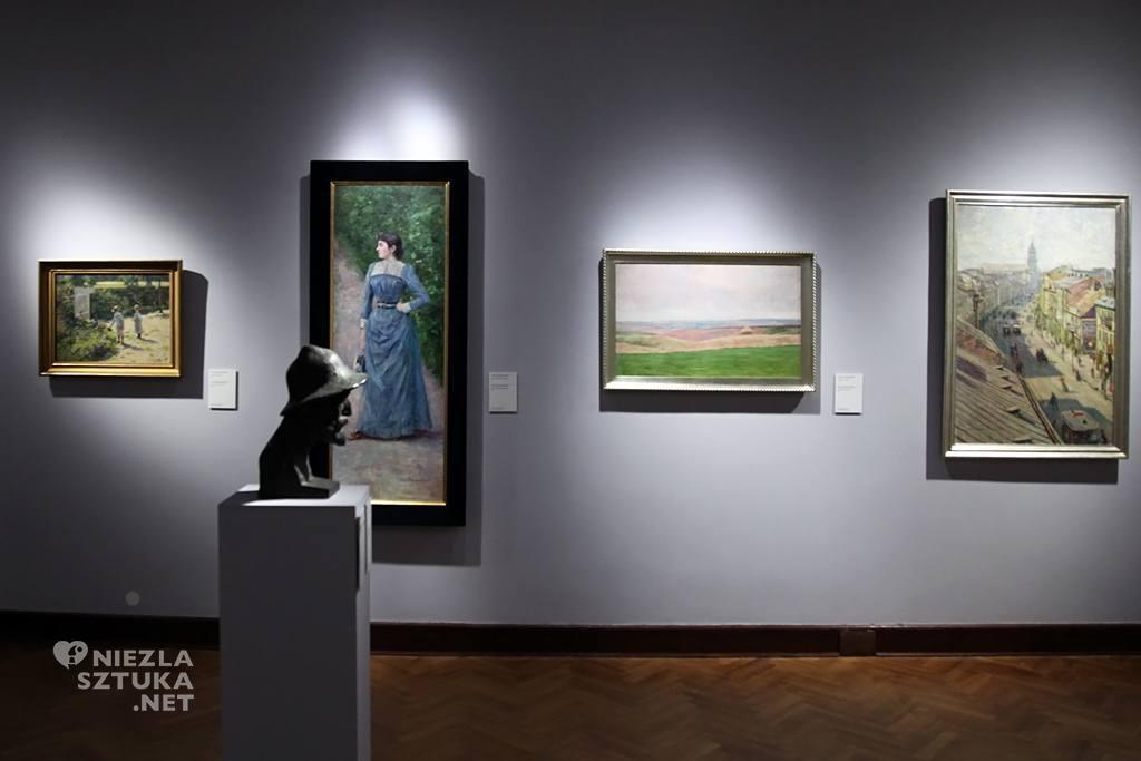 Władysław Podkowiński Portret Wincentyny Karskiej Muzeum Narodowe w Warszawie