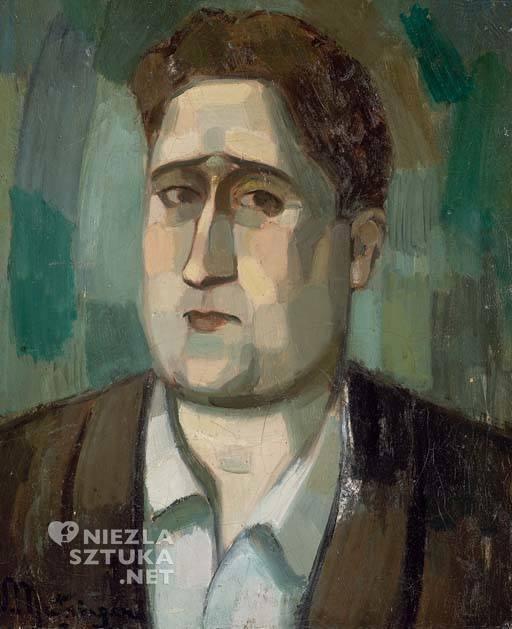 Jean Metzinger, Portret Guillaume'a Apollinaire | 1910, fot.: christies.com