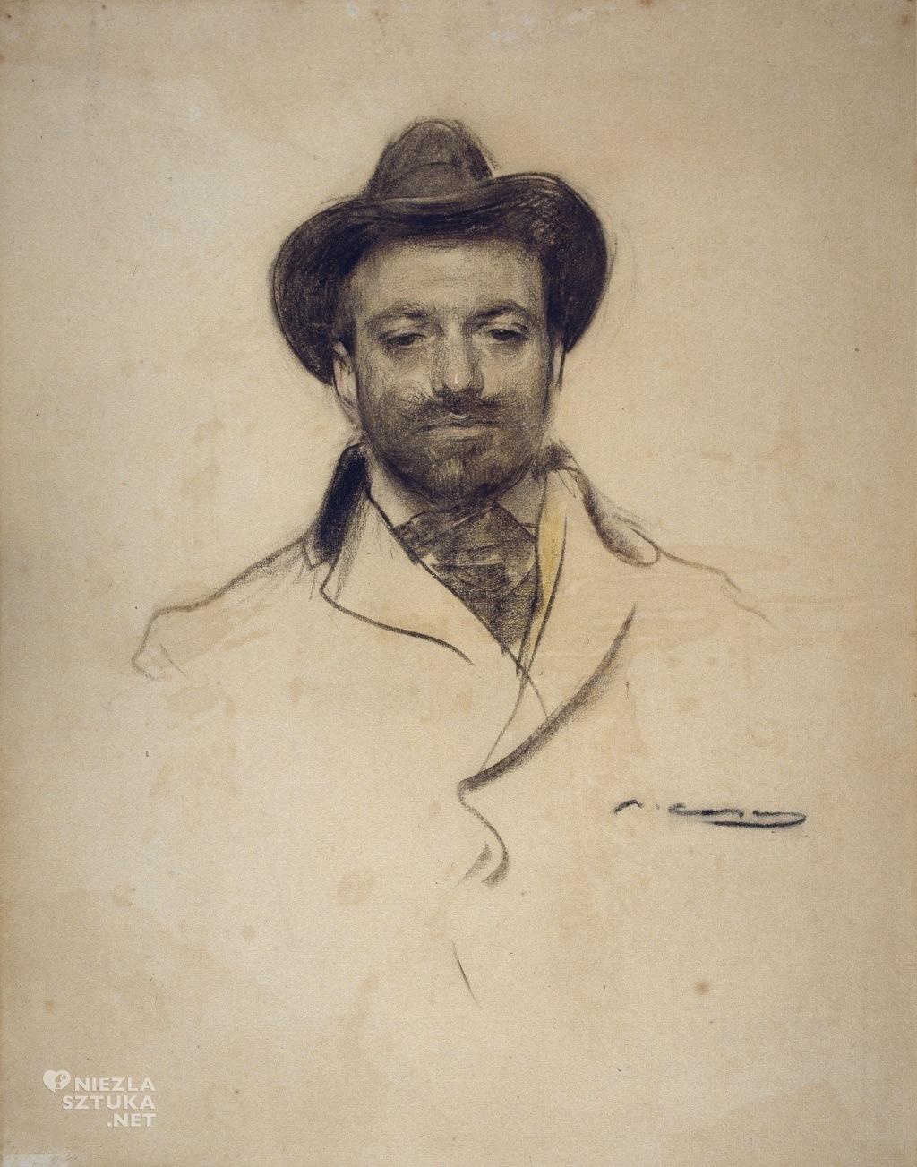 Josep Maria Sert na portrecie Ramona Casas i Carbó, fot.: wikipedia.org