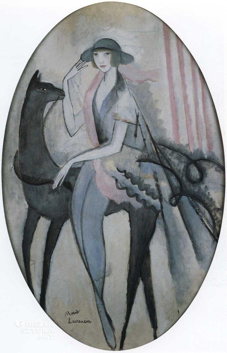 Marie Laurencin Nicole Groult | 1913, fot.: pinterest.com