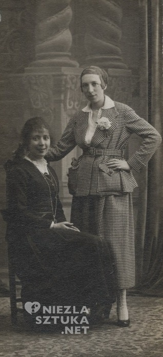 Marie Laurencin i Nicole Groult | 1915, fot.: tumblr.com