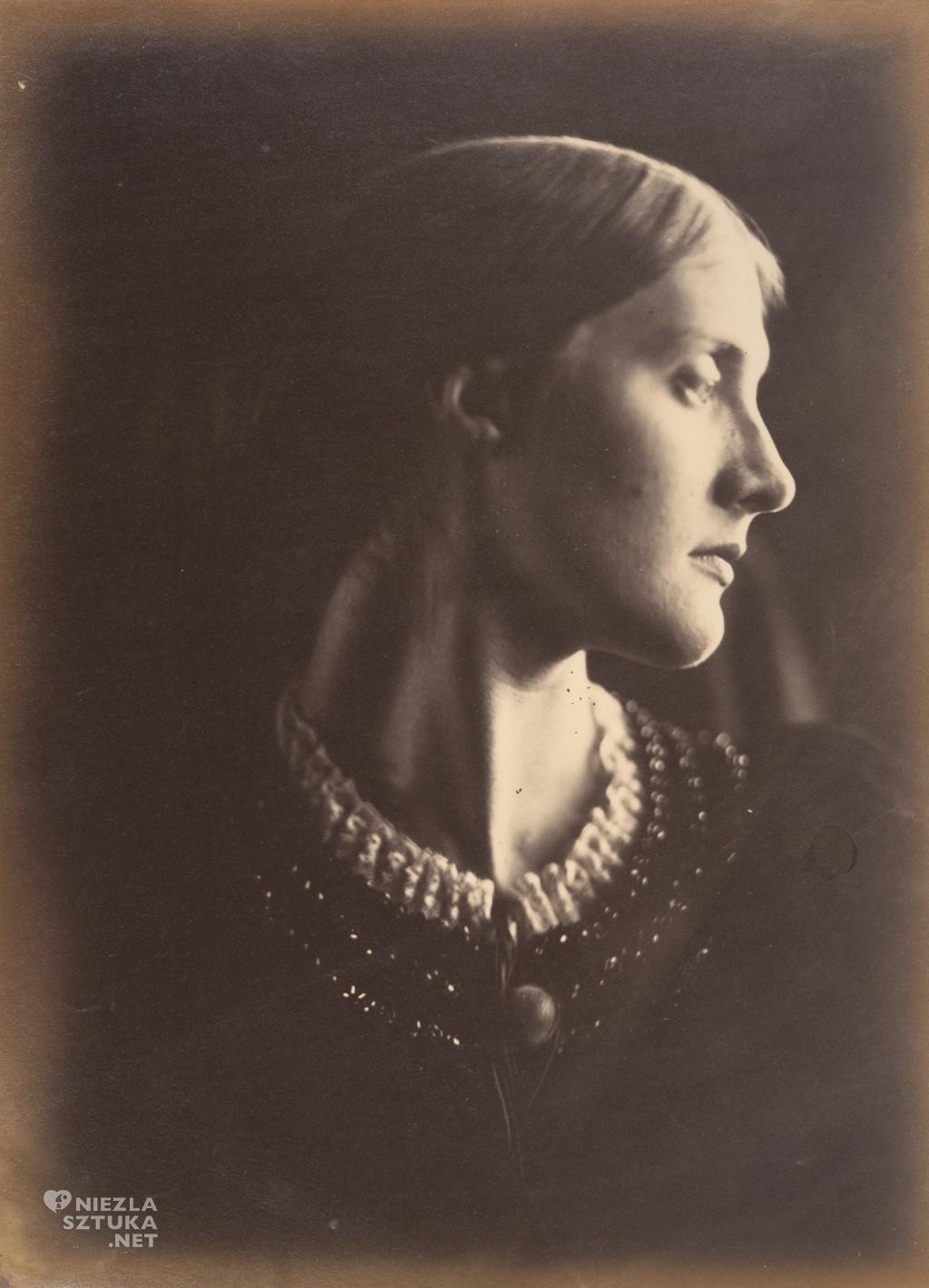 Julia Margaret Cameron Pani Herbert Duckworth | 1867, fot.: metmuseum.org