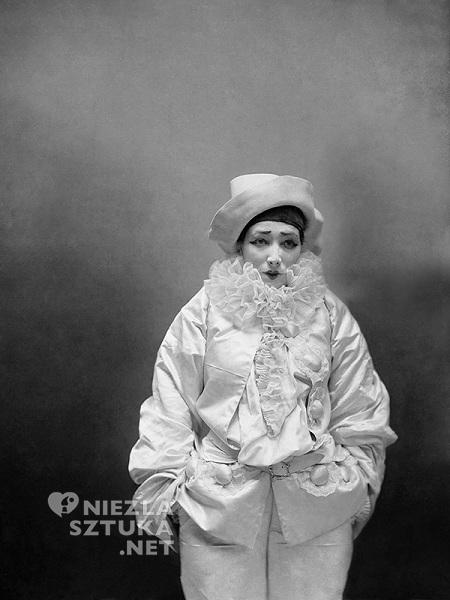 Nadar Sarah Bernhardt jako Pierrot | 1883, fot.: en.yellowkorner.com