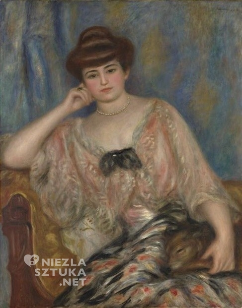 Maria Zofia Olga Zenajda Godebska Misia Sert Natanson Pierre-Auguste Renoir