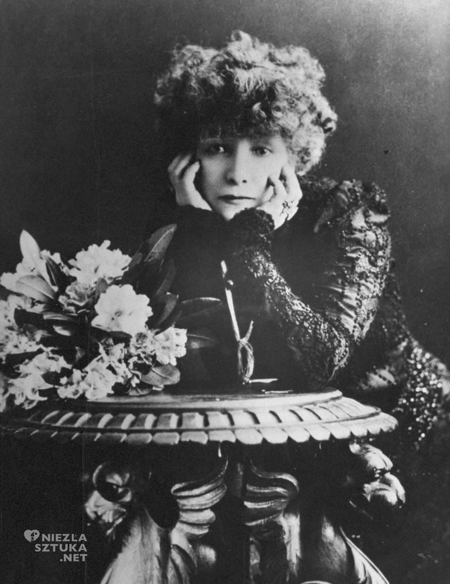 Sarah Bernhardt | 1880, fot.: theredlist.com