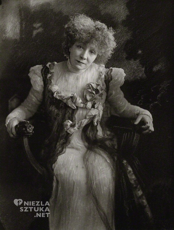 Henry Walter ('H. Walter') Barnett Sarah Bernhardt | 1910, © National Portrait Gallery, Londyn, fot.: npg.org.uk