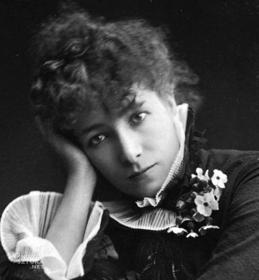 Paul Nadar Sarah Bernhardt, fot.: wikiedia.org