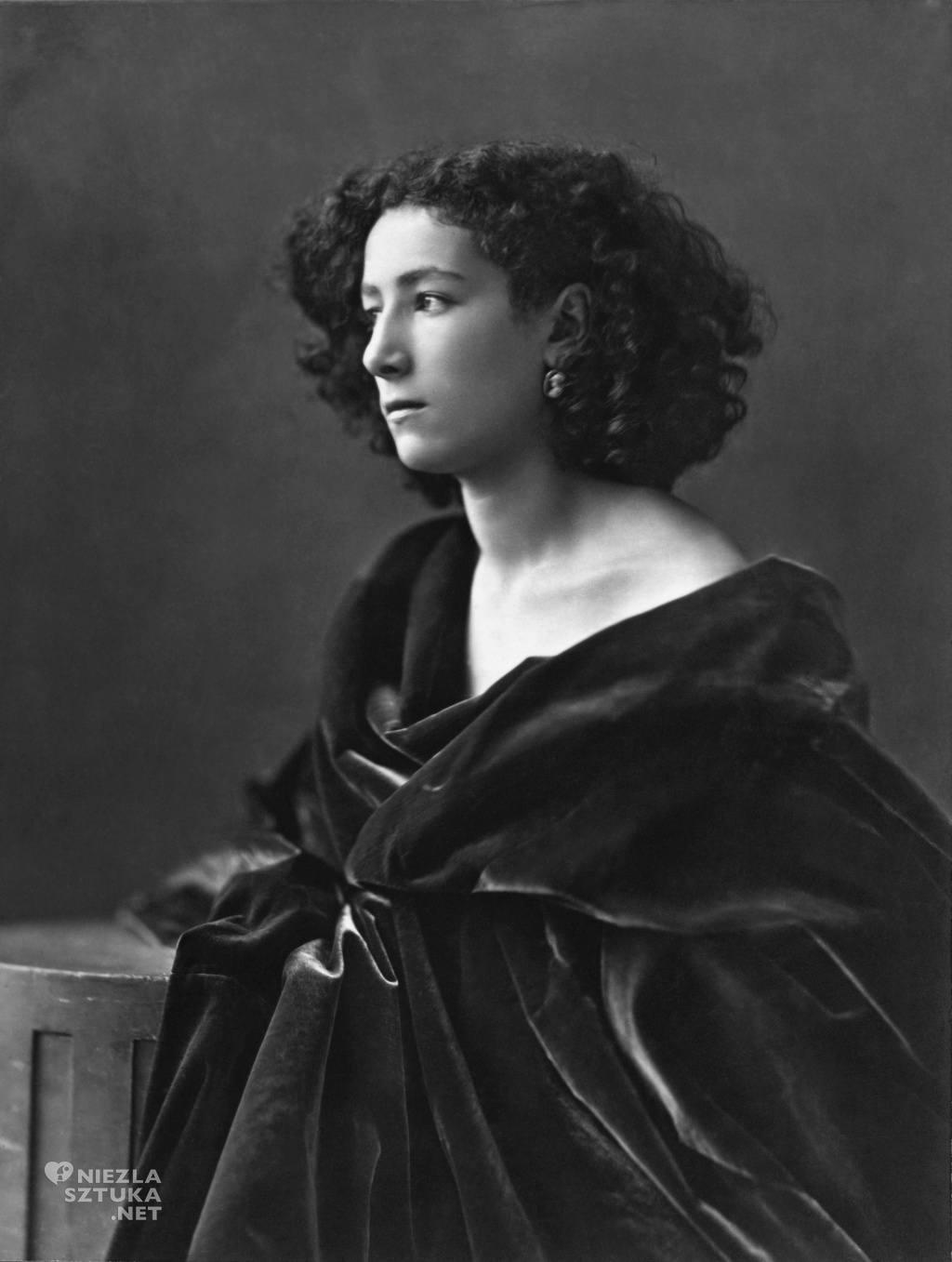 Félix Nadar Sarah Bernhardt | 1864, fot.: wikiedia.org