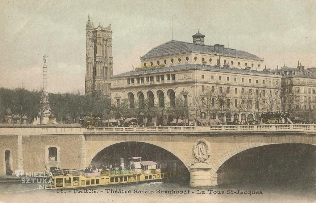 Théâtre Sarah-Bernhardt, Paryż | 1915, fot. wikipedia.org