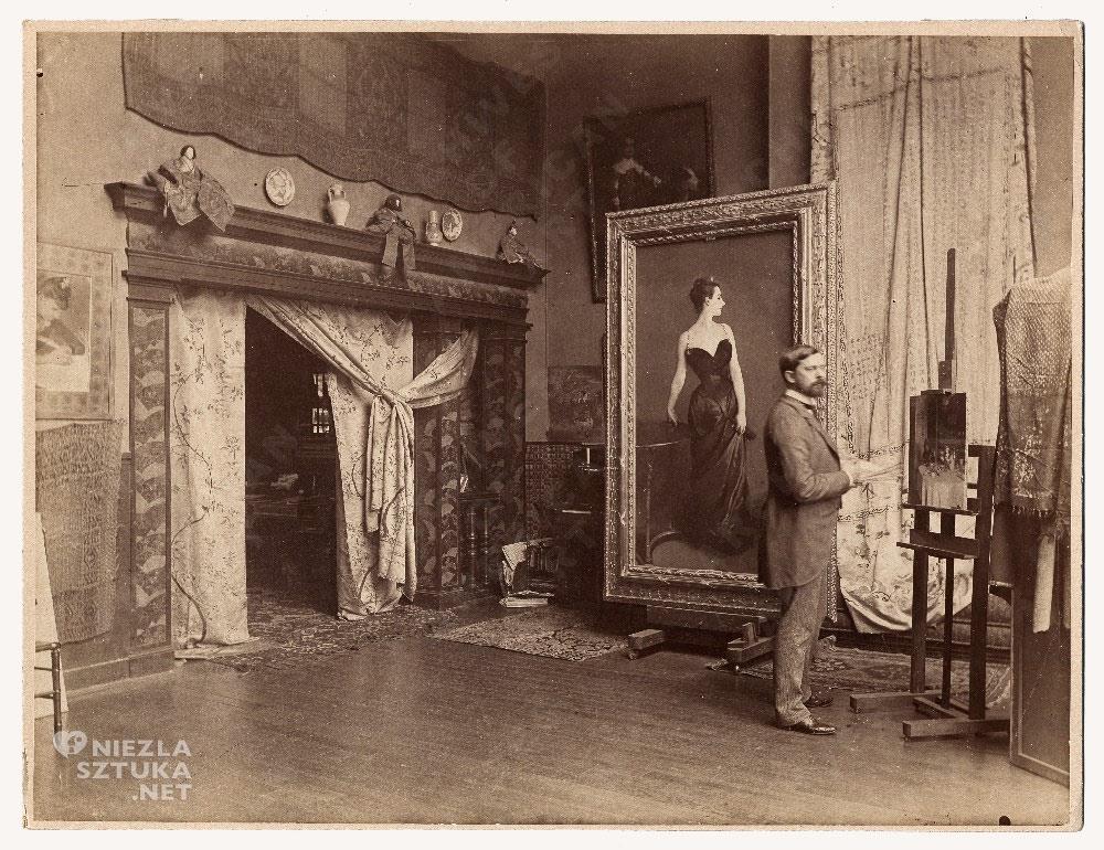 John Singer Sargent, Madame X, studio, Niezła sztuka