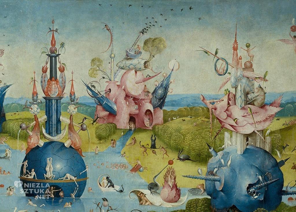 Hieronim Bosh, Ogród rozkoszy ziemskich, malarstwo późnego gotyku, malarstwo wczesnego renesansu, prymitywiści flamandzcy, malarstwo niderlandzkie, Niezła sztuka