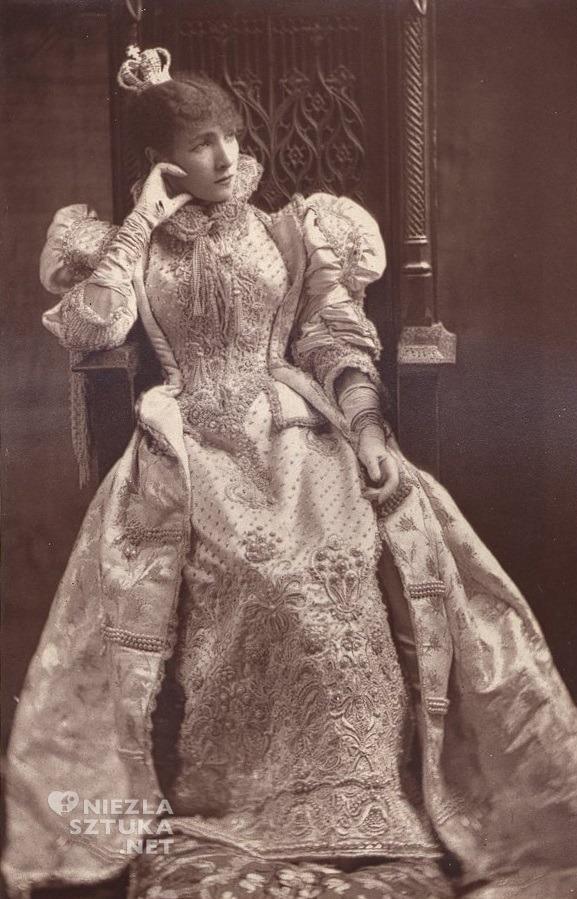 Sarah Bernhardt w sztuce Ruy Blas Viktora Hugo