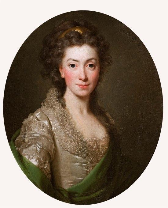 Alexander Roslin Portret Izabeli z Flemingów Czartoryskiej   1794, Muzeum Narodowe w Krakowie, nr inw. MNK XII-a-616
