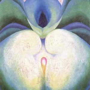 Georgia O'Keeffe Series I White and Blue Flower Shapes | 1919, Georgia O'Keeffe Museum