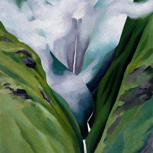 Georgia O'Keeffe Waterfall No. III Iao Valley | 1939, Georgia O'Keeffe Museum