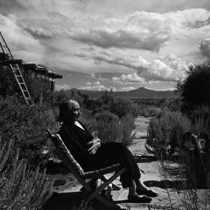 Arnold Newman, Georgia O'Keeffe w swoim domu w Nowym Meksyku, Georgia O'Keeffe Museum