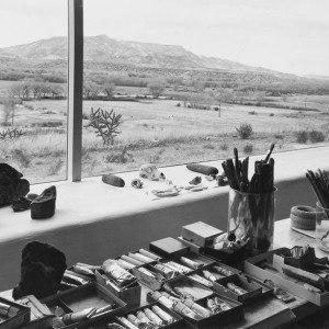 Georgia O'Keeffe w swoim domu w Nowym Meksyku, Georgia O'Keeffe Museum