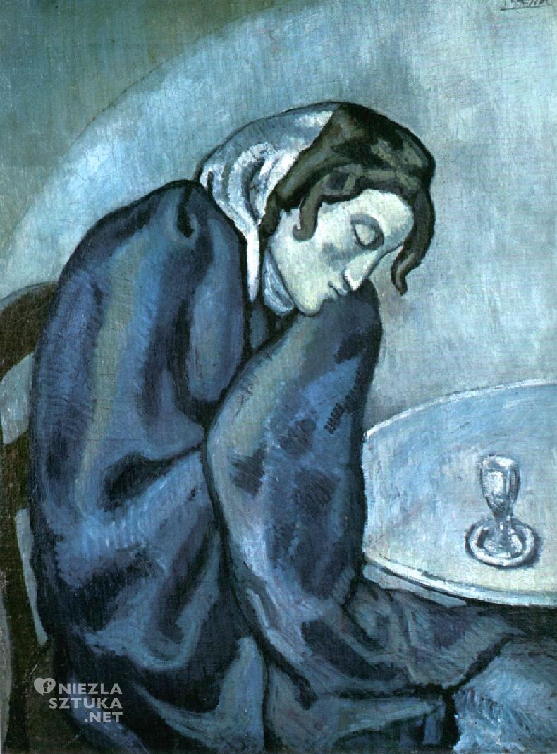 Pablo Picasso, Pijąca absynt, Ermitaż, Niezła sztuka