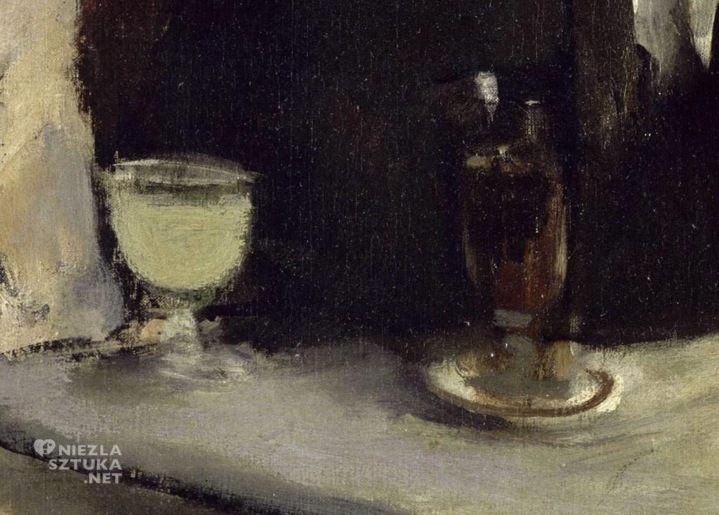 Edgar Degas, Absynt, detal, alkohol, bohema, Niezła Sztuka