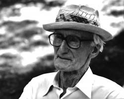 Józef Czapski, 1990, fotografia, Niezła Sztuka