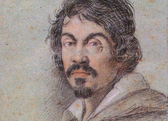 Ottavio Leoni Portret Caravaggio   ok. 1621, Niezła sztuka