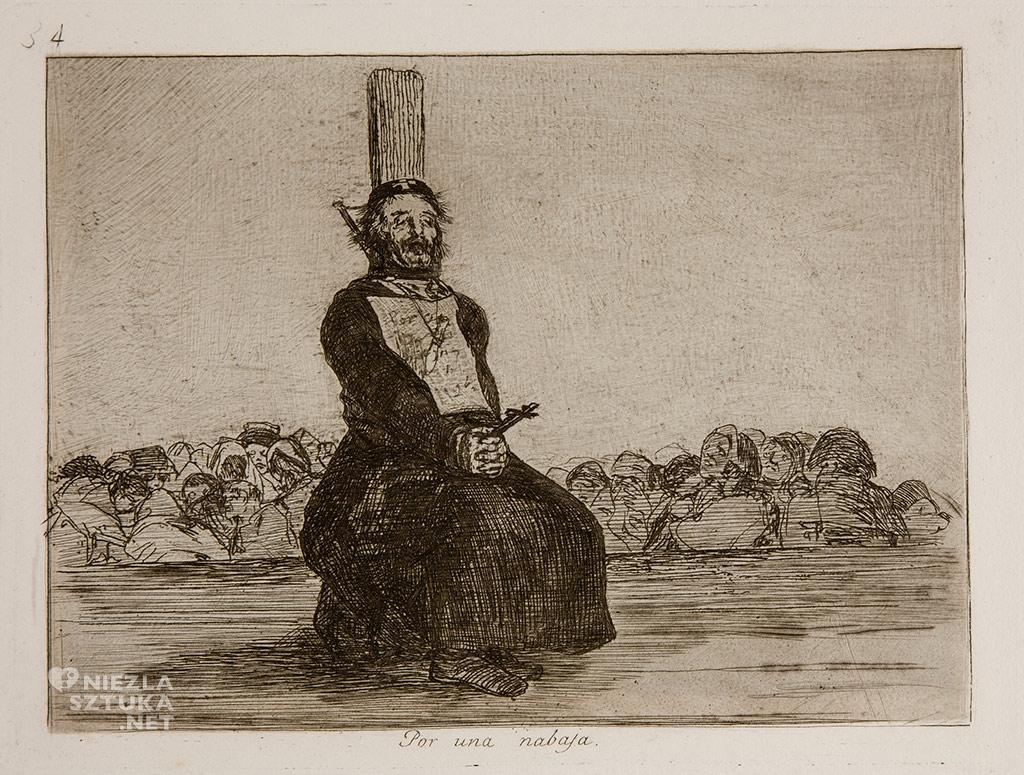 Goya <em>Los Desastres de la Guerra No. 34</em> / <em> Okropności wojny </em> | rok, Museo Prado