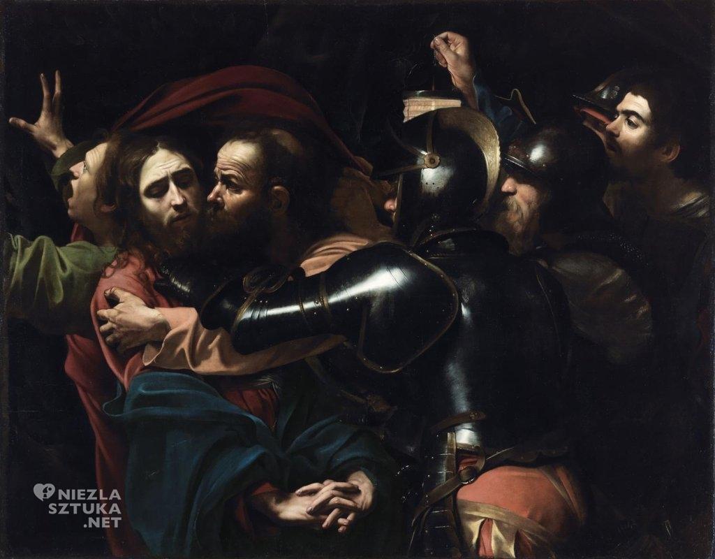 Caravaggio, Pojmanie Chrystusa, Pocałunek Judasza, Niezła sztuka