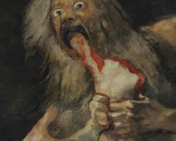 Goya Saturn pożerający swe dzieci | 1819-1823, Niezła sztuka