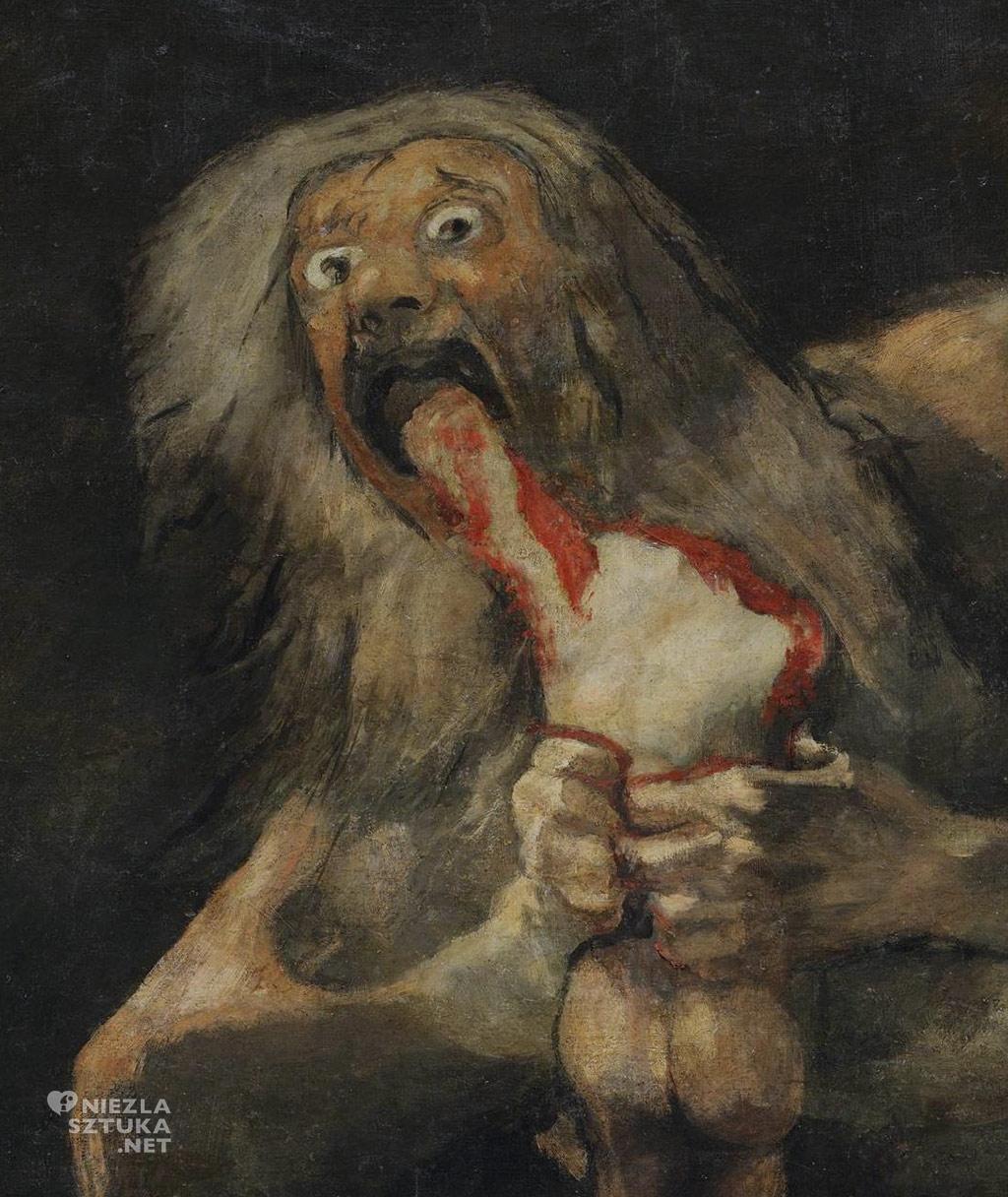 Goya <em>Saturn pożerający swe dzieci</em> | 1819-1823