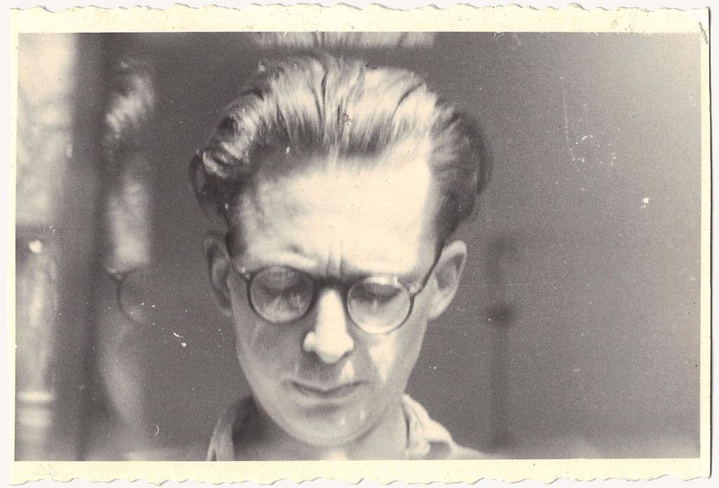 Andrzej Wróblewski, fotografia, autoportret, malarz, sztuka polska, XX wiek, Niezła Sztuka