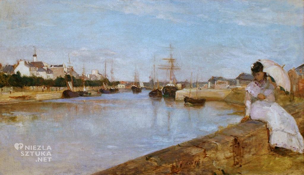 Berthe Morisot, Port w Lorient | 1869