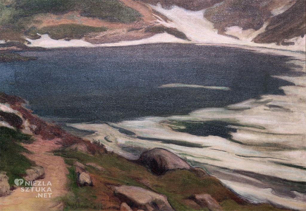 Władysław Ślewiński Morskie Oko | ok. 1907, Muzeum Sztuki w Łodzi, Pałac Herbsta