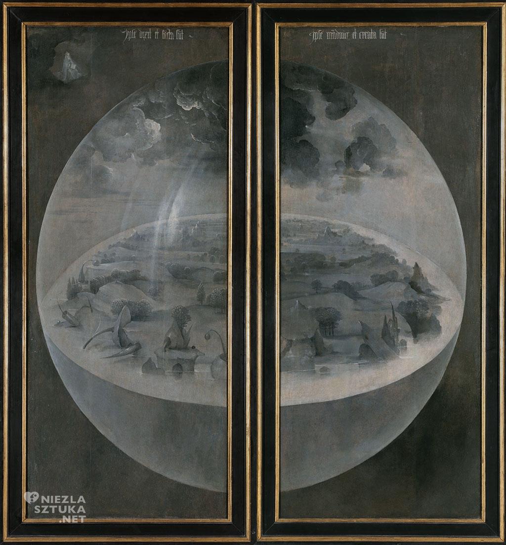 Hieronim Bosch, Stowarzyszenie świata, Ogród rozkoszy ziemskich, Niezła Sztuka