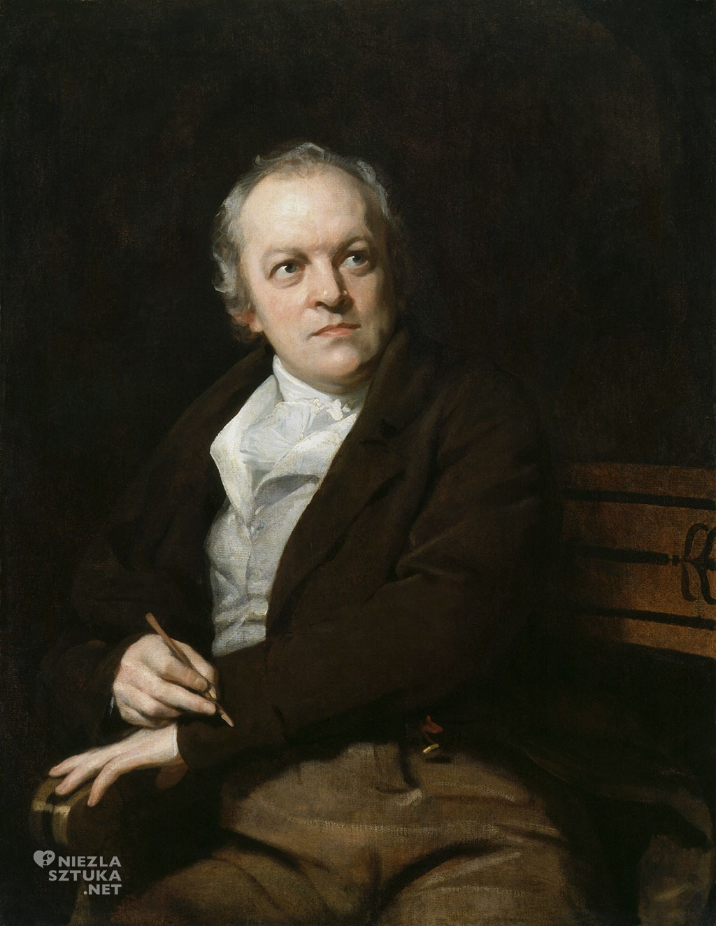 Thomas Phillips Portret Williama Blake'a | 1807, fot. National Portrait Gallery, Londyn