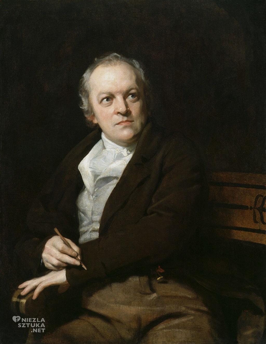 Thomas Phillips, William Blake, National Portrait Gallery, Londyn, Niezła sztuka
