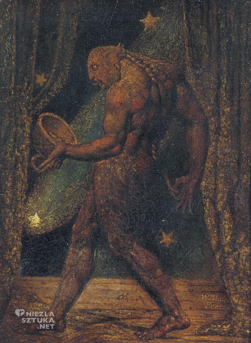 William Blake, duch pchły, niezła sztuka