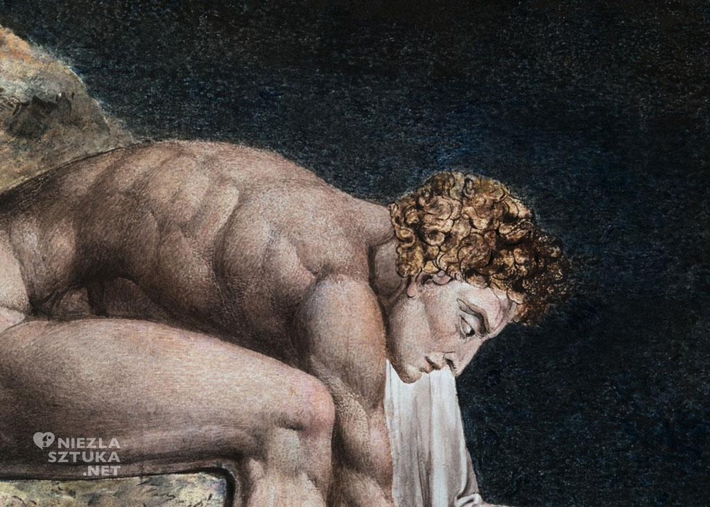 William Blake Newton, detal | 1795, fot. William Blake Archive