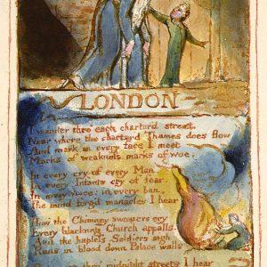 William Blake Londyn | 1794, ilustrowany wiersz artysty, fot. Wikipedia