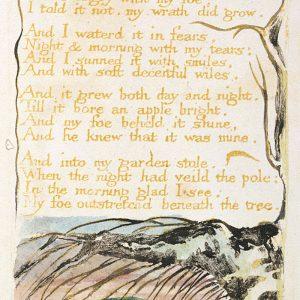 William Blake Drzewo jadu | 1794, ilustrowany wiersz artysty, fot. Wikipedia