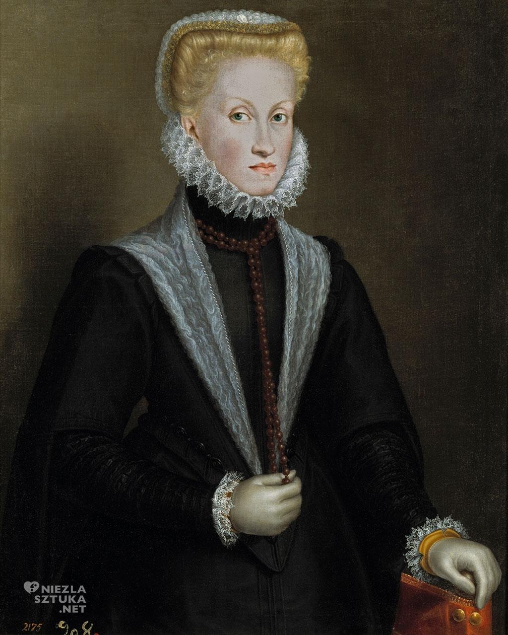 Sofonisba Anguissola <em>Portret królowej Anny Austriaczki</em> | ok. 1570