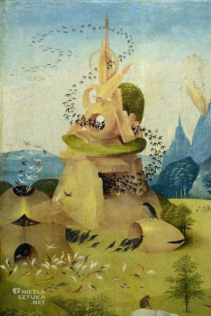 Hieronim Bosch, Ogród rozkoszy ziemskich, detal, sztuka niderlandzka, Niezła Sztuka