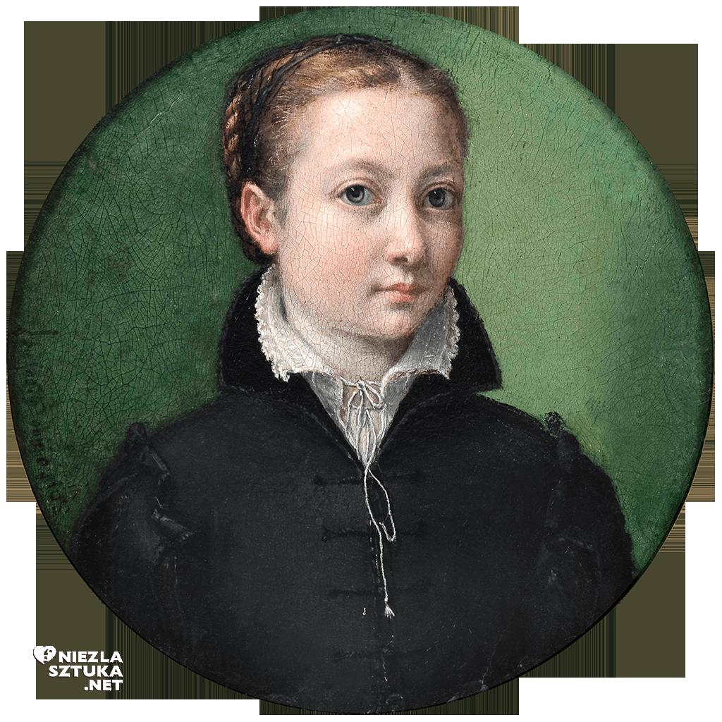 Sofonisba Anguissola, Autoportret, malarka, Niezła sztuka