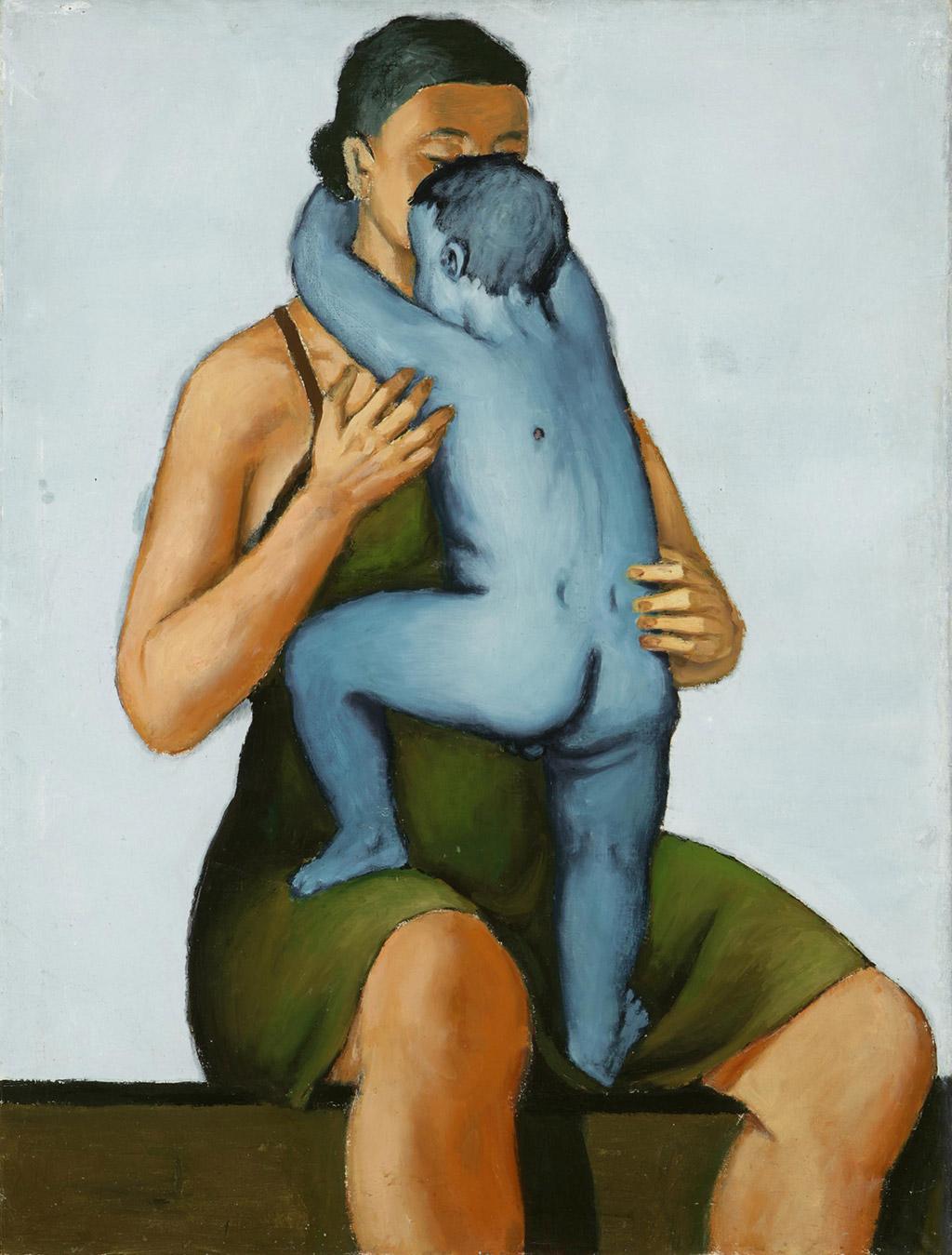 Andrzej Wróblewski, Matka z martwym dzieckiem, II wojna światowa, sztuka polska, Niezła Sztuka