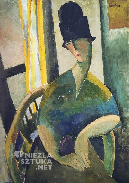Obraz autorstwa Jeanne Hébuterne