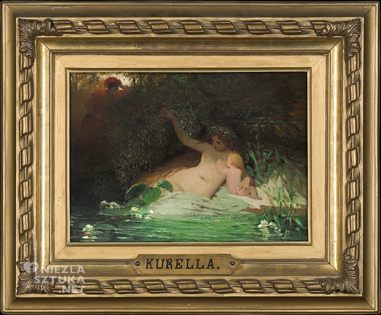 Ludwik Kurella <em>Rybka</em> | 1869, olej na desce, 20 × 28 cm, fot. Agraart