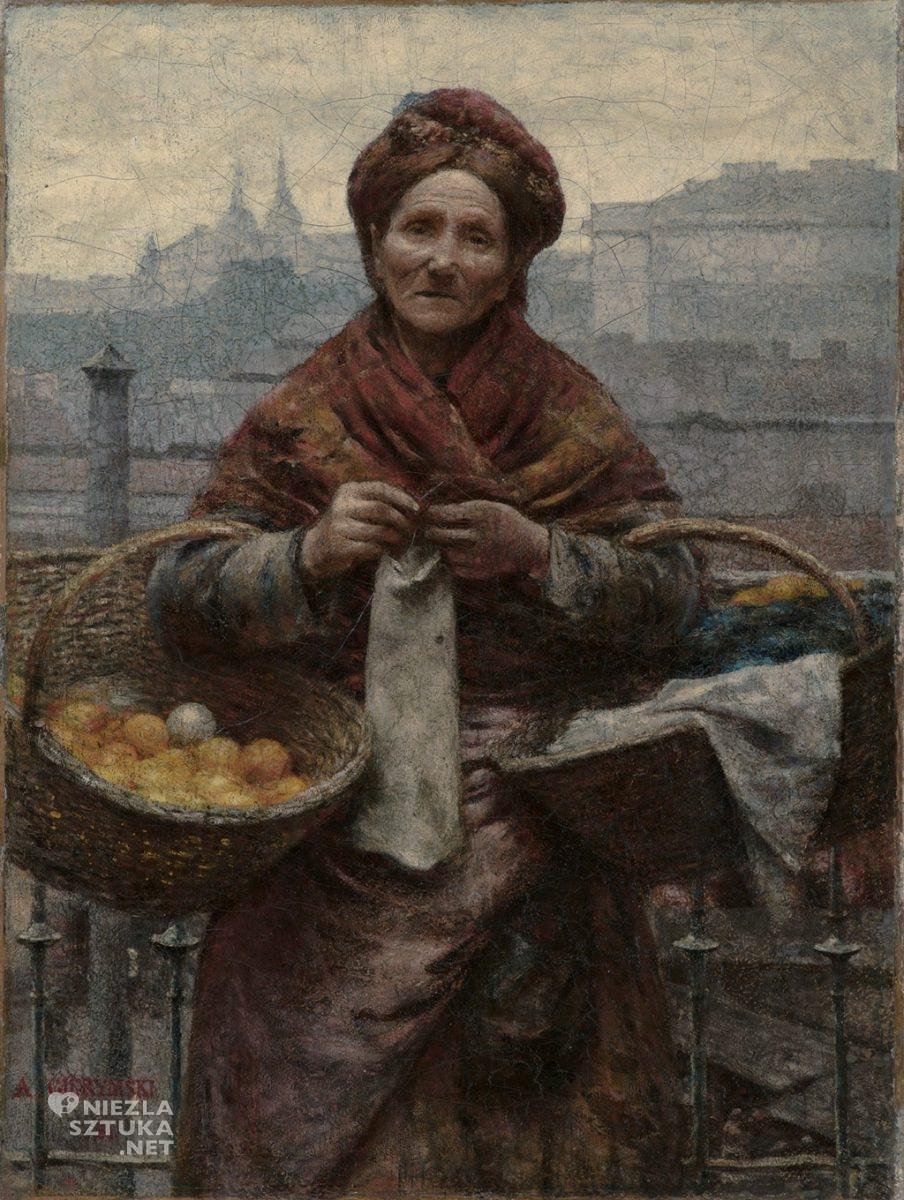 Aleksander Gierymski, Żydowka z cytrynami | 1881, olej na płótnie, wł. Muzeum Śląskie