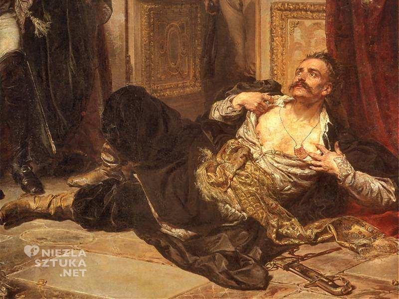 Jan Matejko, Rejtan - Upadek Polski, malarstwo historyczne, sztuka polska, malarstwo polskie, Niezła sztuka