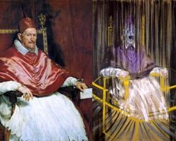 Diego Velázquez, Francis Bacon, Portret papieża Innocentego X, papież, Studium portretu papieża Innocentego X, niezła sztuka